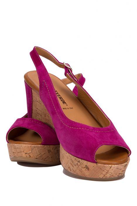 7146 Valleverde Kadın Sandalet 35-41 Fuşya / Fuxia
