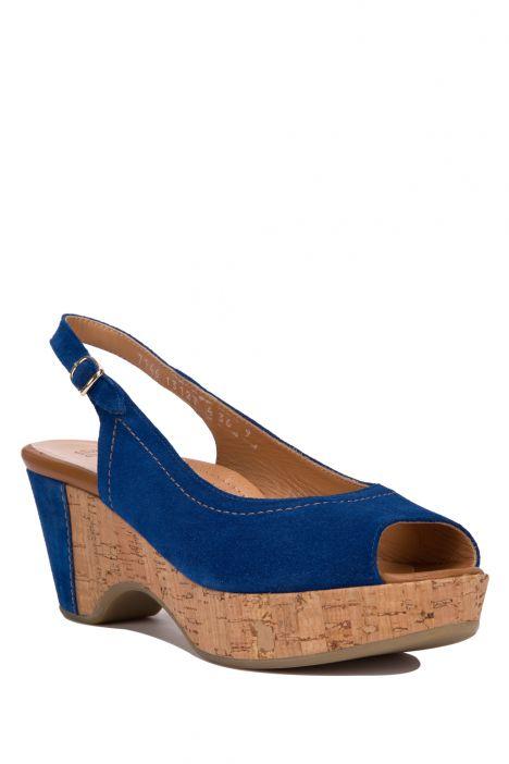 7146 Valleverde Kadın Sandalet 35-41 Mavi / Blue