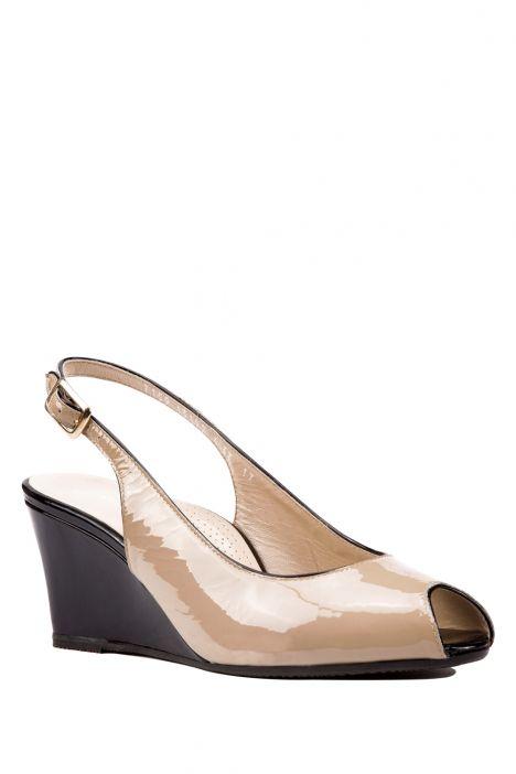7159 Valleverde Kadın Topuklu Ayakkabı 35-40,5 Bej / Beige