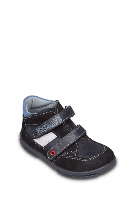 7208B31 Kifidis Melania Hakiki Deri İlk Adım Çocuk Ayakkabısı 21-26 Siyah / Nero