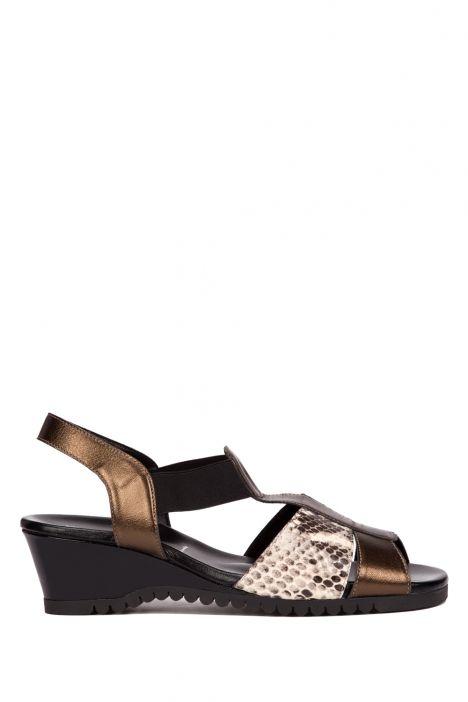 7680 Valleverde Kadın Sandalet 35-41 Siyah / Nero