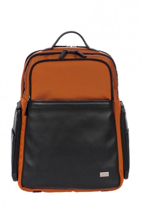 7701 Bric's Monza Sırt Çantası 35x45x17 cm Turuncu / Orange