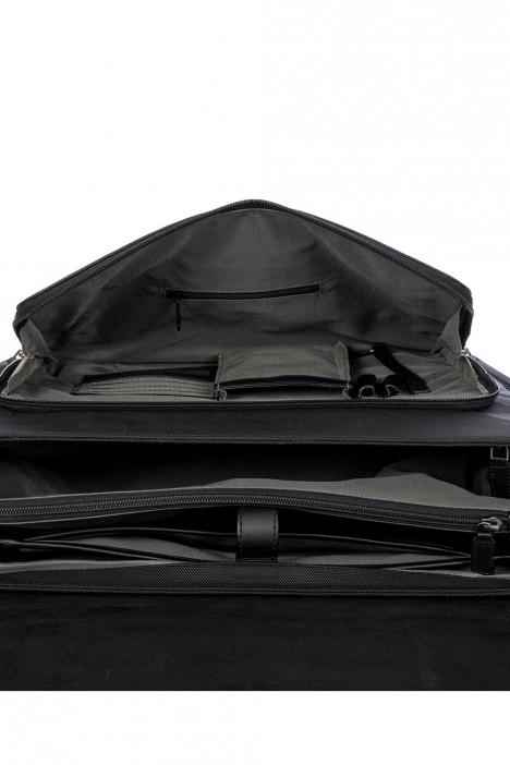 7706 Bric's Monza Evrak Çantası 40x30x17 cm Siyah / Black
