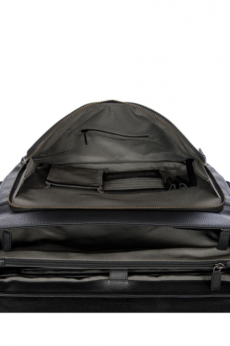 7706 Bric's Torino Evrak Çantası 40x30x17 cm Siyah / Black