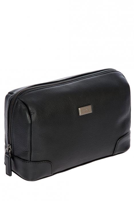 7707 Bric's Torino Kozmetik Çantası 25x15x10 cm Siyah / Black