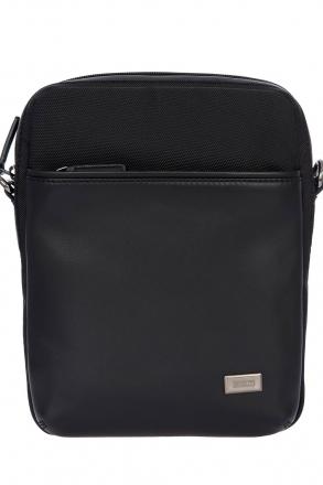 7708 Bric's Monza Omuz Çantası 21x28x6,5 cm Siyah / Black