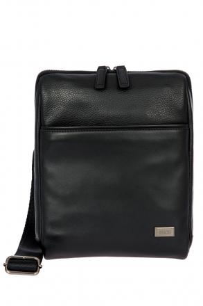 7709 Bric's Torino Omuz Çantası 22x27x4 cm Siyah / Black