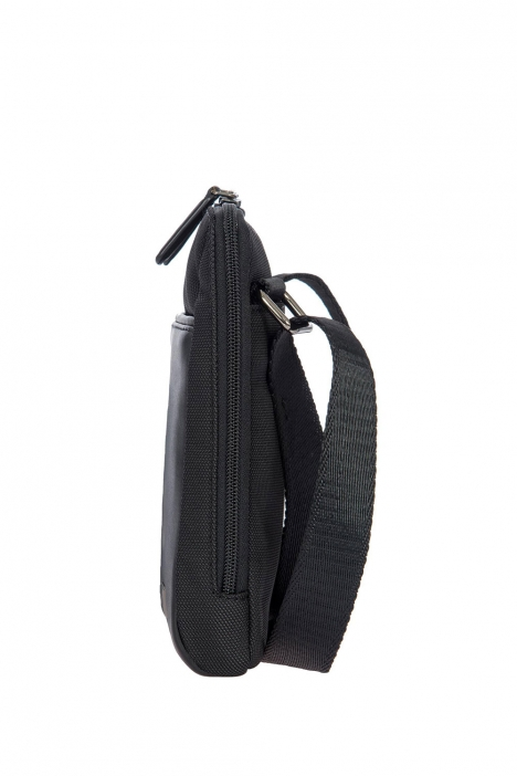 7710 Bric's Monza Omuz Çantası 17x22x4 cm Siyah / Black