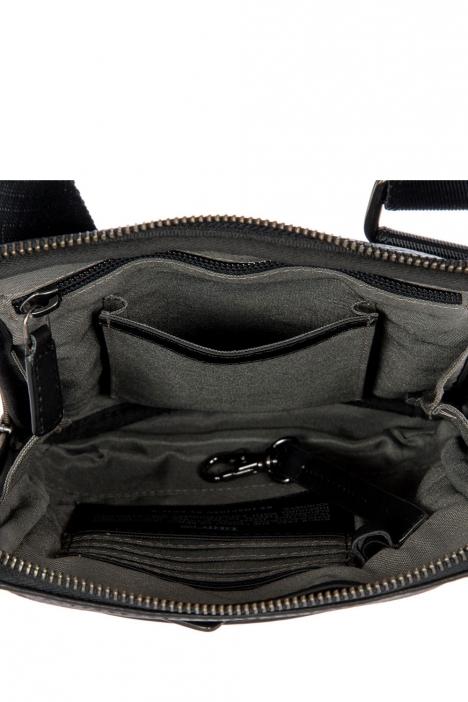 7710 Bric's Torino Omuz Çantası 17x22x4 cm Siyah / Black
