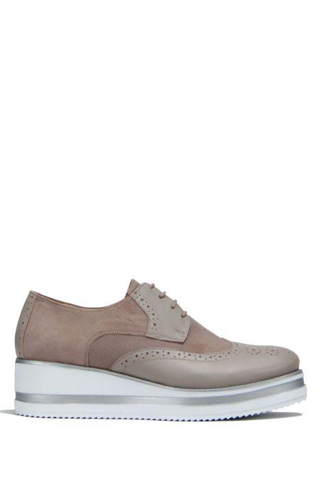 7756 Petunya Kadın Ayakkabı 36-41 KUM