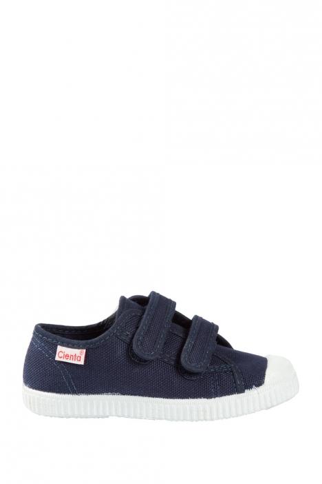 78020 Kifidis Cienta Çocuk Keten Ayakkabı 31-36 Mavi / Blue