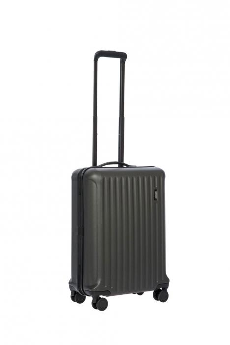 8027 Bric's Riccione Kabin Boy Valiz 40x55x23 cm ASH GREY - MAT