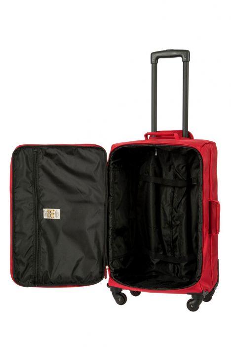 8118 Bric's Siena Valiz 40x65x24 cm Kırmızı / Red