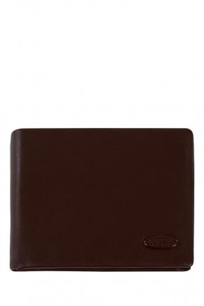 9203 Bric's Cervino Erkek Deri Cüzdan 13x10 cm Kahverengi / Brown
