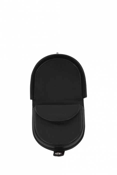 9212 Bric's Cervino Erkek Deri Cüzdan 8x8,5 cm Siyah / Black