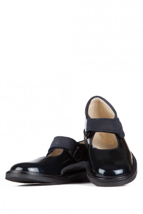 9299 Chiquitin Okul Ayakkabısı 34-36 MET.AZUL