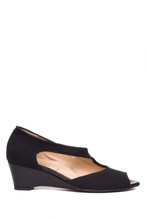 9520 Valleverde Kadın Topuklu Ayakkabı 35-40 Siyah / Nero