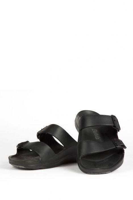 971131 Birkenstock Betula Balance Anti-Slip Erkek Terlik BLACK/GREY