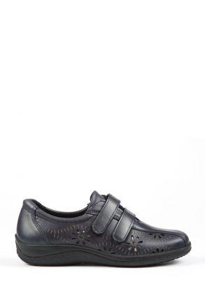 Anna 39 Ac-Kifidis Kadın Ayakkabı 35-42 Lacivert / Navy Blue