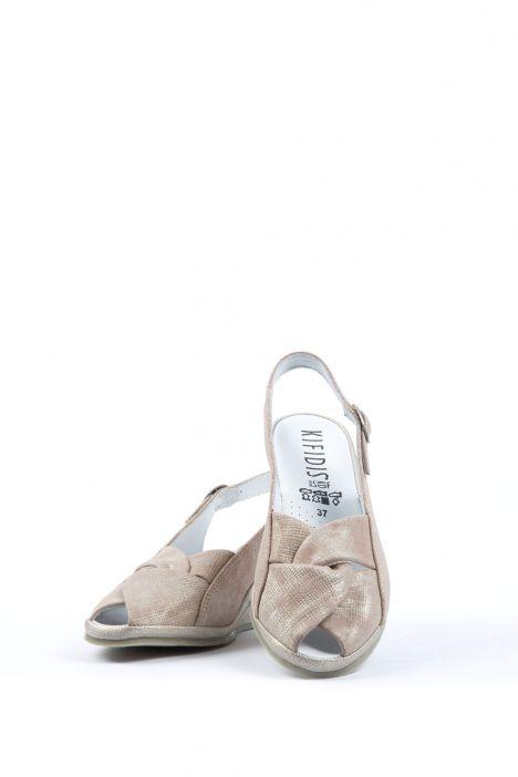 Bruna Ac-Kifidis Kadın Sandalet 35-42 JUTE NUDE