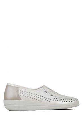 Buzios Ac-Kifidis Kadın Ayakkabı 35-42 Beyaz / White