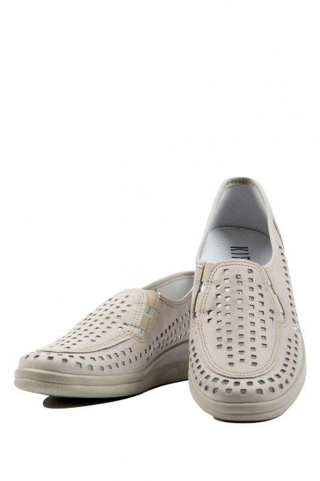 Buzios Ac-Kifidis Kadın Ayakkabı 35-42 NUDE