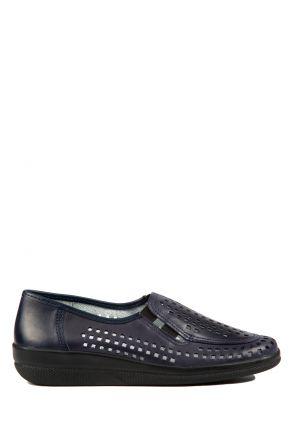 Buzios Ac-Kifidis Kadın Ayakkabı 35-42 Lacivert / Navy 2332