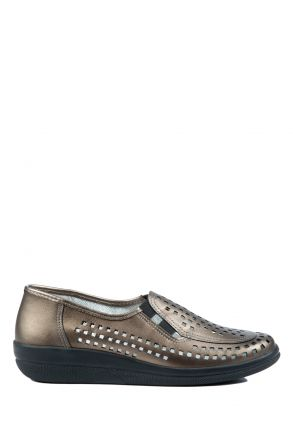 Buzios Ac-Kifidis Kadın Ayakkabı 35-42 Dore / Gold