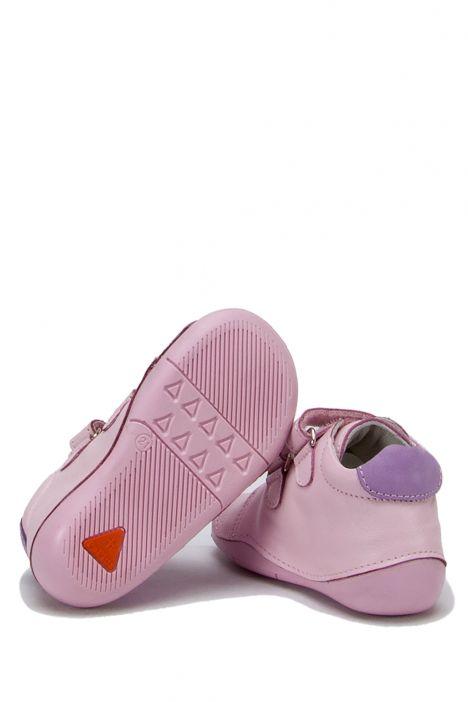 D29 Kifidis İlk Adım Çocuk Ayakkabısı 19-23 Pembe Deri
