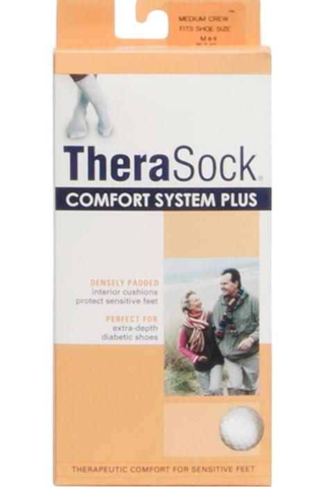 Thera Socks Plus Crew Beyaz / White