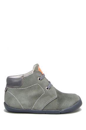 FK11 Kifidis İlk Adım Çocuk Ayakkabısı 20-25 Gri Süet