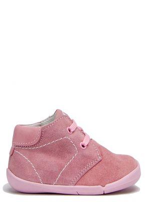 FK11 Kifidis İlk Adım Çocuk Ayakkabısı 20-25 Pembe Süet / Pink Suede