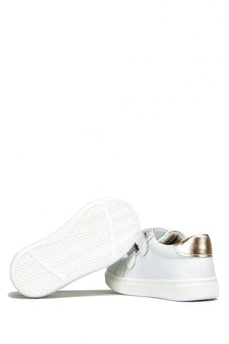 FK41 Kifidis İlk Adım Çocuk Ayakkabısı 21-25 Beyaz-Dore
