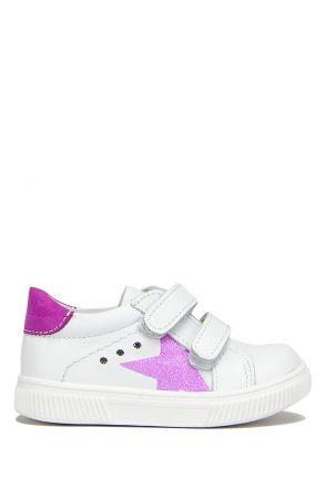FK41 Kifidis İlk Adım Çocuk Ayakkabısı 21-25 Beyaz-Lila