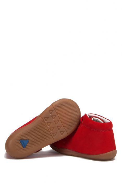 FK42 Kifidis İlk Adım Çocuk Ayakkabısı 20-25 Kırmızı Nubuk
