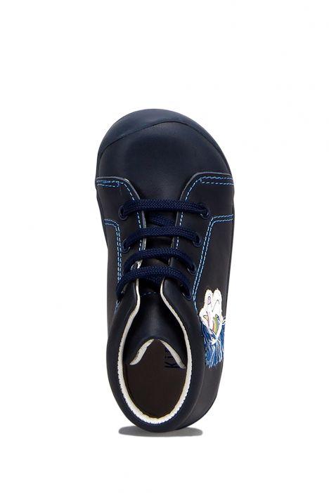 FK42 Kifidis İlk Adım Çocuk Ayakkabısı 20-25 Lacivert Deri