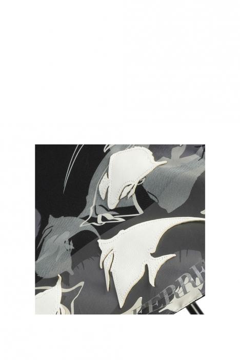 FLA-1067 Gianfranco FERRE Şemsiye BLACK/GREY