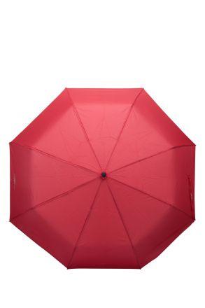 FLA-4/D Ferre Otomatik Mekanizmalı Şemsiye Kırmızı / Red