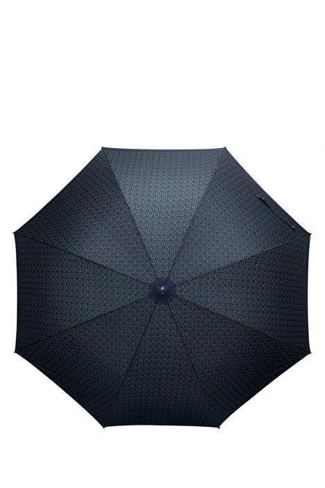 FLA-856V Ferre Desenli Otomatik Mekanizmalı Ahşap Saplı Uzun Şemsiye DESENLİ