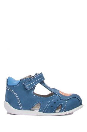 FP70 Kifidis Paplus İlk Adım Erkek Çocuk Nubuk Ayakkabı 18-23