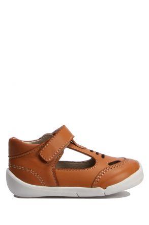 GV001 Kifidis-Kids İlk Adım Erkek Çocuk Deri Ayakkabı 18-25
