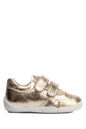 GV07 Kifidis-Kids Kız Çocuk Deri Spor Ayakkabı 21-25