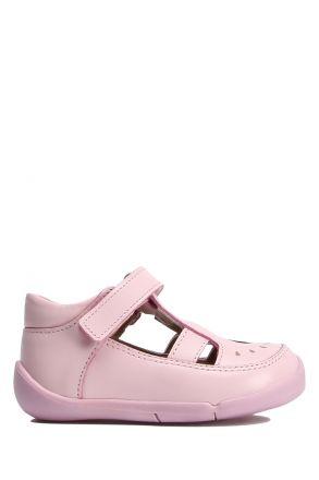 GV09 Kifidis Paplus Kız Çocuk Deri İlk Adım Ayakkabısı 18-25