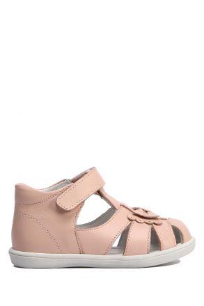 GV10 Kifidis-Kids Kız Çocuk Deri İlk Adım Ayakkabısı 18-25