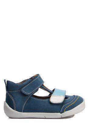 GV11 Kifidis-Kids İlk Adım Erkek Çocuk Deri Ayakkabı 18-25