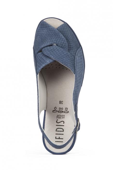 Hanna 12 Ac-Kifidis Kadın Sandalet 35-41 Blue Scale