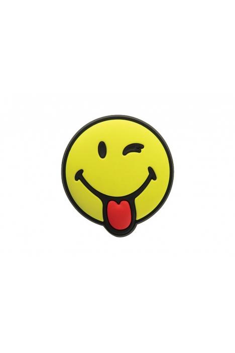 J0006 Jibbitz Çocuk Toka Silly Smiley