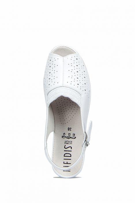Jatina Ac-Kifidis Kadın Sandalet 35-42 Beyaz / Bianco