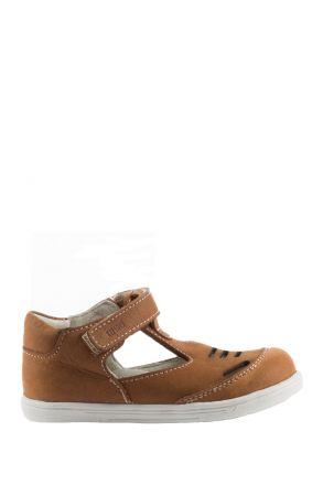 K100 Kifidis-Kids İlk Adım Çocuk Ayakkabısı 19-24 Konyak Nubuk