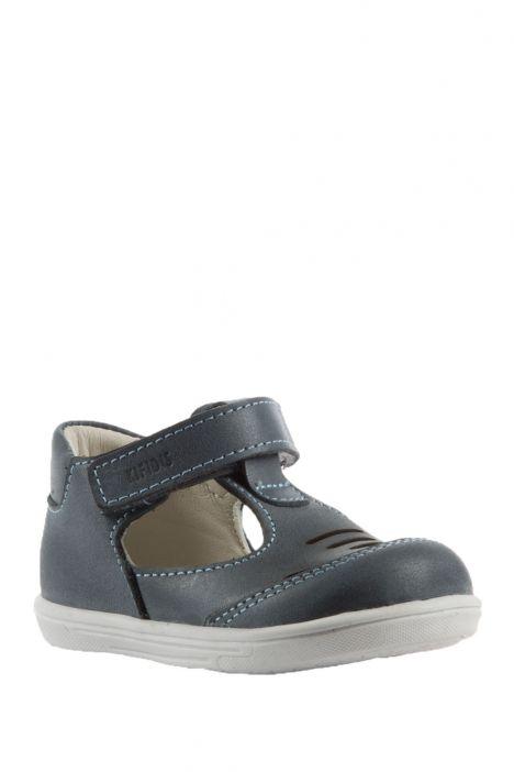 K100 Kifidis-Kids İlk Adım Çocuk Ayakkabısı 19-24 Kot Nubuk